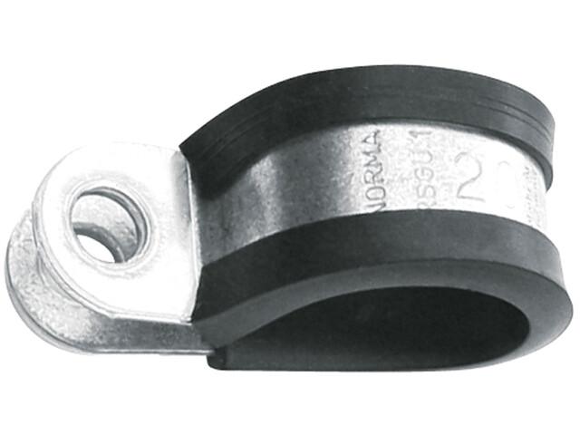 SKS Roshel-Multifix-GU Rohrschelle 15mm Ø20mm schwarz